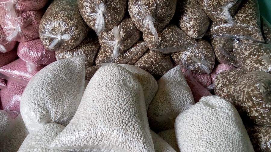 Engrais vendus sur le marché rive droite de Niamey