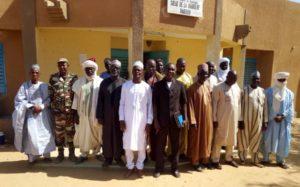 Réunion du cadre de concertation régional filière bétail dans la mairie de Dakoro région de Maradi