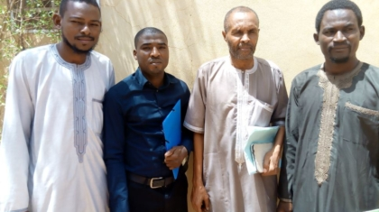 Réunion de travail entre l'équipe technique du cabinet Bioengineering and Agribusiness Consulting et celle de Icon pour le développement d'une base de données sur les semences au Niger - réunion tenue au CIPMEN