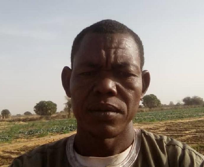 Soumana Agriculeteur dans la région de Niamey