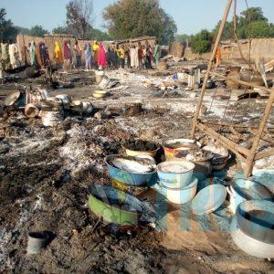 Populations attaquées par Boko Haram © Dailly Trust
