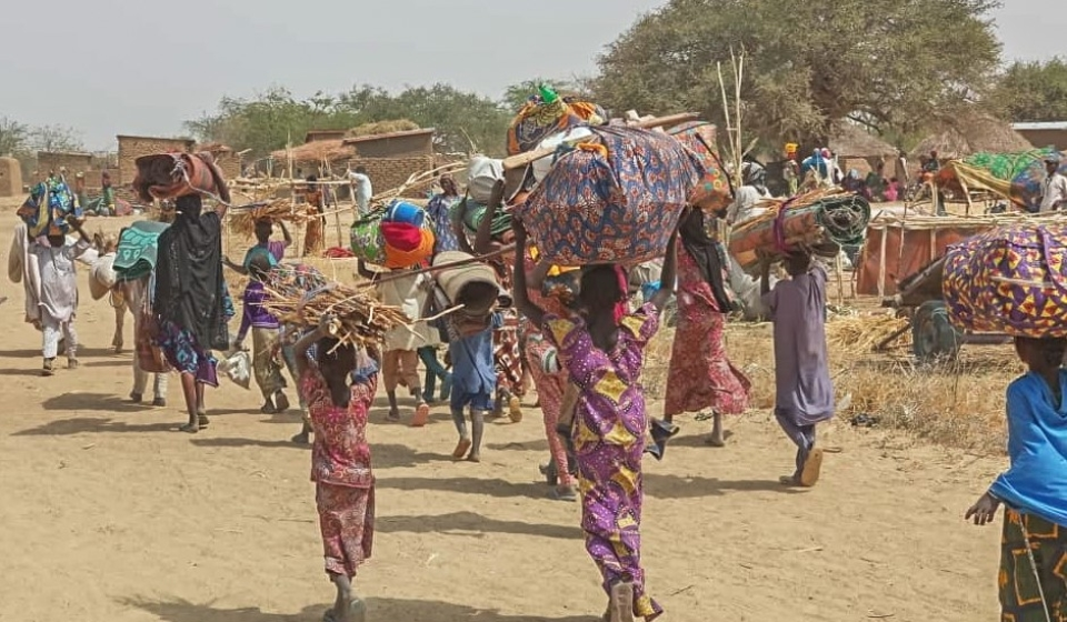 Photo Courtesy by Zara Abicho/MSF: Fearing further attacks, more than 35,000 of Rann's residents have sought refuge across the border in Cameroon