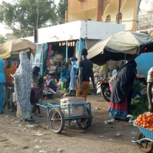 L'ambiance au marché de Wadata Niamey